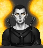 Akiva by BlackBirdInk