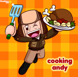 Cooking Andy by RoseMary1315