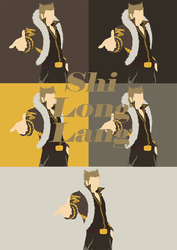 Shi Long Lang Minimalist Wallpaper  by RavenclawChic