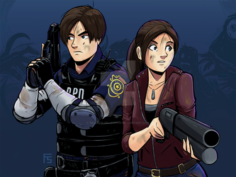 RE2 Remake by Requiem-Delacroix