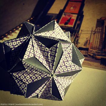 Modular Origami (Wedge Pockets Type II) by MadSoulChild
