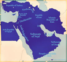 The Middle East in 1985 by IntrepidTee