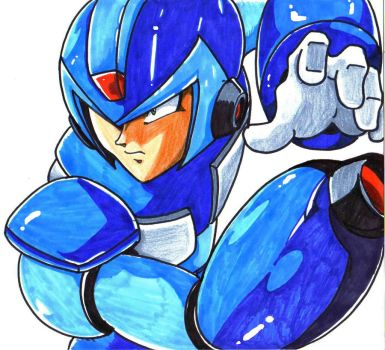megaman x by trunks24