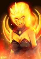 Infernal Diana by Hinata1495