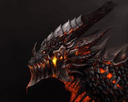 Deathwing, the Destroyer by Callthistragedy1