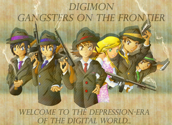 Gangsters on the Frontier by Galistar07water