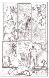 Uncanny Xmen 112 redraw page 5 pencils by benttibisson