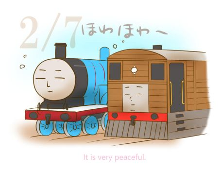 Edward and Toby by semihiro51