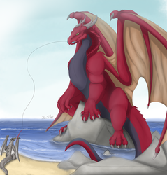 Fishing Co-op by RimentusTheDragon
