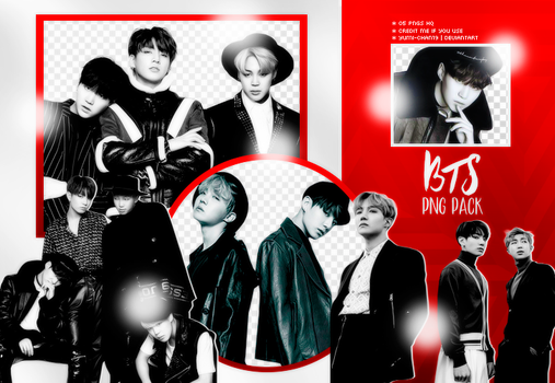 PNG PACK: BTS #11 by Hallyumi