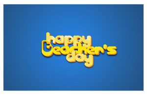 Teacher's Day Card by fllint