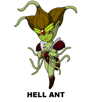 #137: Hell Ant by TinySailorMoon