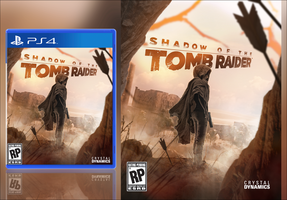 Shadow Of The Tomb Raider Fan Made Box Art by LitoPerezito