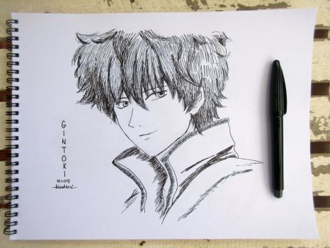 Gintoki from Gintama by bloodberi