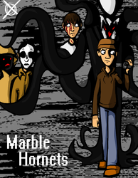 Marble Hornets Poster by RessQ