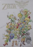 The Legend of Zelda by lombnut