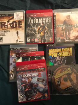 Christmas Haul 2017 - PS3 Game Selection by Linkzilla