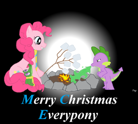 Merry Christmas Everypony by egyptianthief