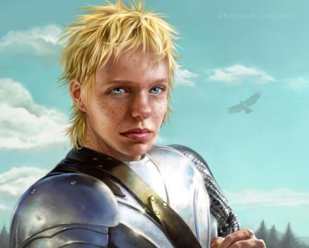 Brienne by quickreaver