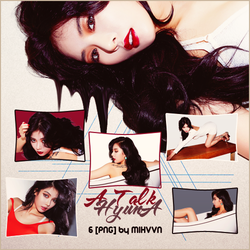 Pack PNG - HyunA (A Talk) by MiHVVN