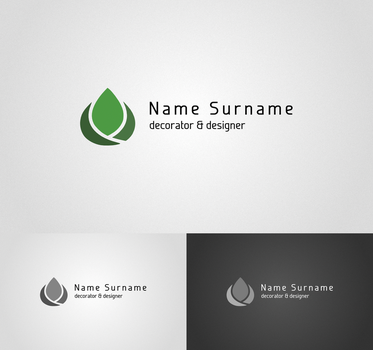 decorator and designer logo II by flatmo1