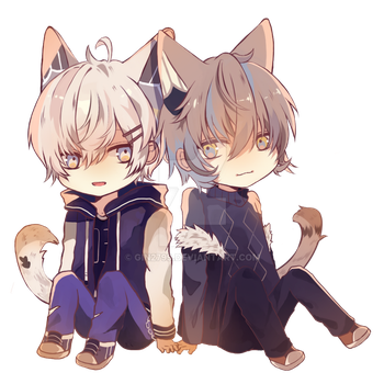 [Commission] Jae and Insoo by gin2799