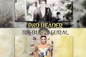 PSD Header (CLOSED) by BusraGural