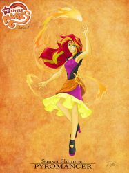 My Little Mages: Sunset Shimmer by Didj