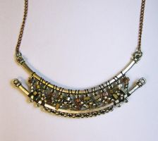 Twists and Turns - Beaded Necklace by DanielleDucrest