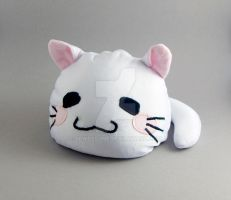 Nyamo Blob Kitty Plush by SewDesuNe
