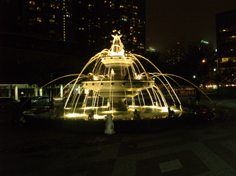 The Dog Fountain by Neville6000