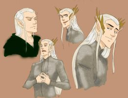 Thranduil by wristwatchwitch