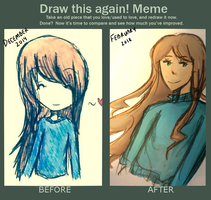 Draw This Again Meme by majestyrose
