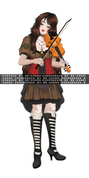 The Violinist - commission by ES-Dinah