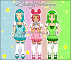 Starlight Maidens: Sugar,Spice and Everything Nice by Miss-Gravillian1992