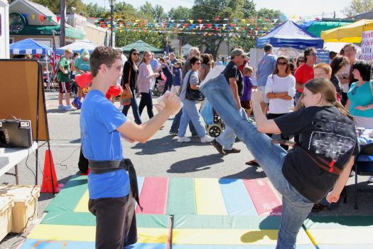 Karate Day at Street Fair 6 by quietstorm2