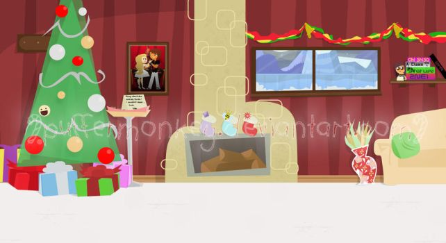 SSChristmas Background by PufferMonkey
