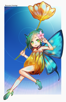 Commission : Fairy by Harukagi