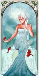 Queen of Ice and Snow by Hannah-Alexander
