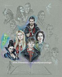 WIP Once upon a time  2014 by scotty309