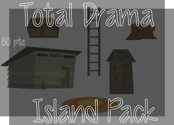 Total Drama Island Pack 80 by crystalline-shadow