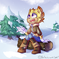 Winter Kiele FIN by BlueKazenate
