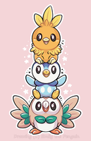Bird Stack! by Oomles
