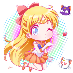 Sailor Venus by emiliosan