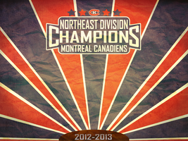 Montreal Canadiens Division Championship Wallpaper by bameroncerry