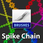 Spike Chain PS brush by dinmoney