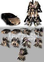 KOS-MOS Transformers by JPL-Animation