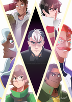 Voltron by incaseyouart