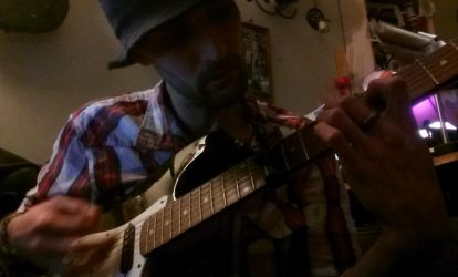 Guitarring on the Non-Strat by SkiyeCam