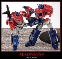 Not madness, Sparta Cybertron by alienspawn